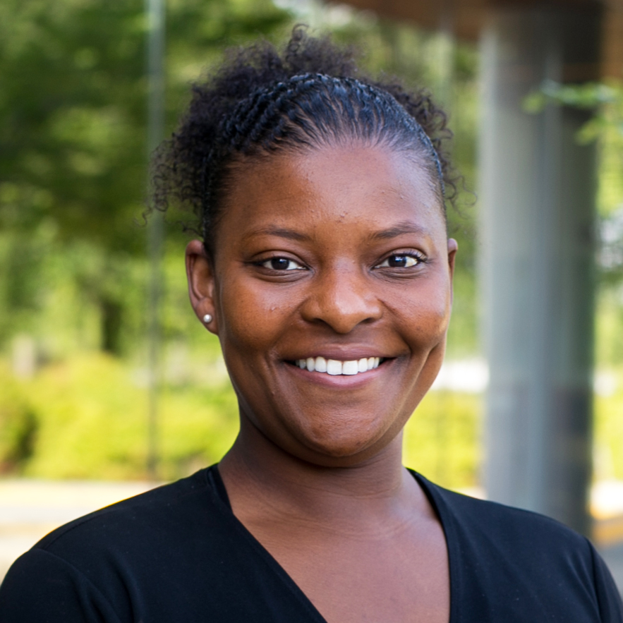 portrait of mi-chelle thomas, executive assistant to the AVC of human resources at uc davis