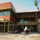 """exterior of the uc davis student community center"""