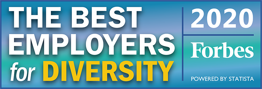 Forbes Best Employer for Diversity 2020